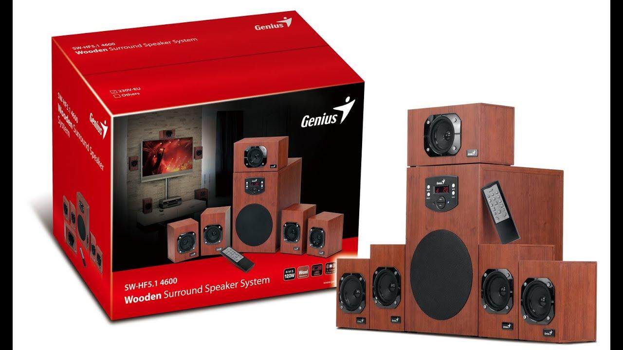 Компьютерная акустика 5 1 Genius SW-HF5 1 6