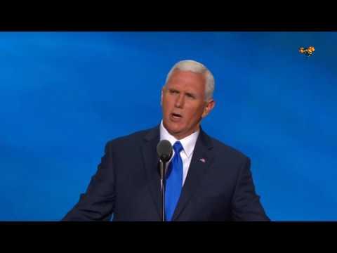 """""""Stolt att ha blivit vicepresident för Donald Trump"""""""