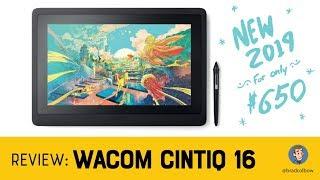 Wacom Cintiq 16 Review (A $650 Wacom Drawing Tablet!)