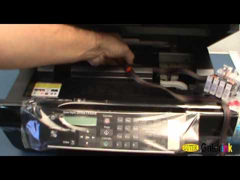 Instalação do CIS (Bulk Ink) para Epson Stylus Office TX320F