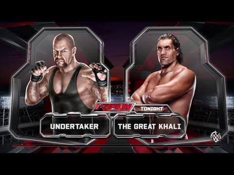 The Great Khali Vs Undertaker 2013 May 12 video