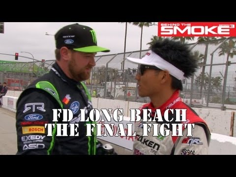 Formula Drift Long Beach Finals 2013 - BTS3 - Daijiro Yoshihara