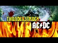 AC/DC - AC/DC - Thunderstruck (Lyrics) video