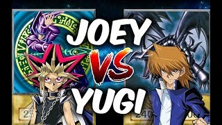 YUGI VS JOEY - Dark Magician vs Red-Eyes (Yugioh! Anime Character Duels)