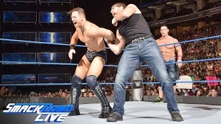 Aj Styles & The Miz vs. John Cena & Dean Ambrose: SmackDown Live, September 13, 2016