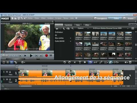 Tuto effets audio avec MAGIX Video Deluxe