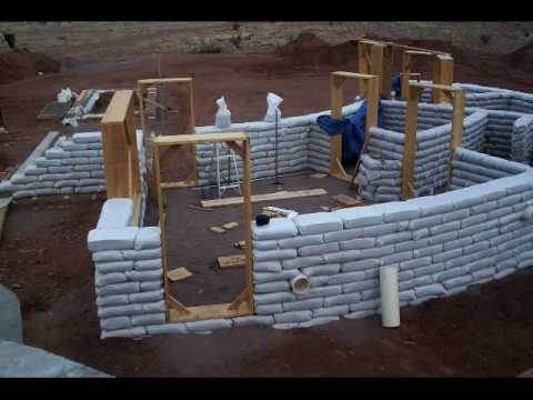 Earthbag House 2 Youtube