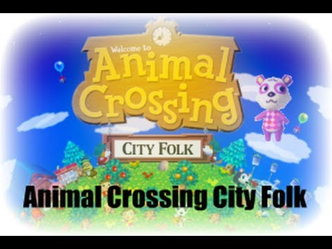 Let's Play Animal Crossing City Folk - #1 Summer in the City