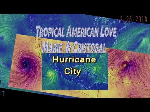 Eyes on Hurricanes Cristobal & Marie - Weird Weather days