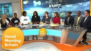 Should There Be a Boost in Stop and Search to Tackle Knife Crime? | Good Morning Britain