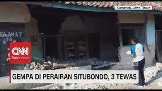 Gempa 6,3 Magnitudo Guncang Perairan Situbondo,  3 Tewas