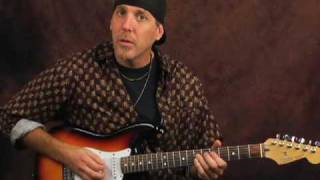 Electric or Acoustic guitar lesson on killing string noise