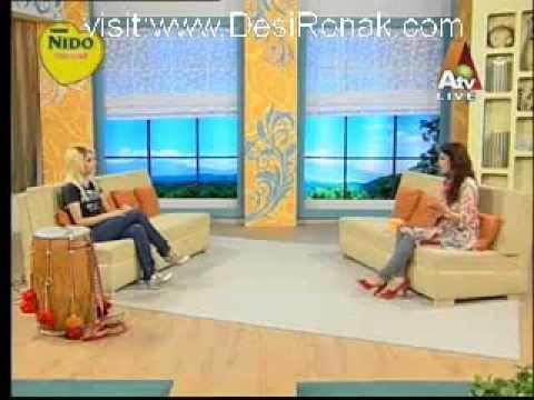 RANI TAJ International Dhol Player - On The Breakfast Show With Farah