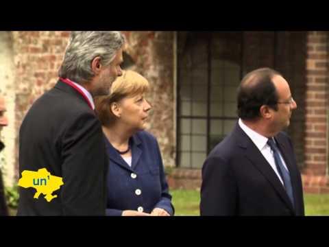 Hollande and Merkel warn Kremlin of more sanctions if Ukrainian presidential vote is sabotaged