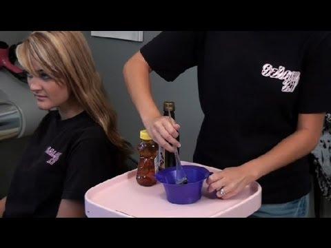 Homemade Recipe for Dry. Damaged Hair : Treating Damaged Hair