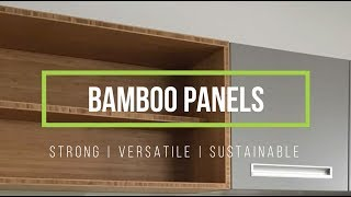 Bamboo Panel Joinery