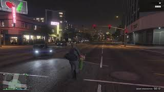 Grand Theft Auto V looking like STAR WARS at this point Lmao #NewLaserGuns
