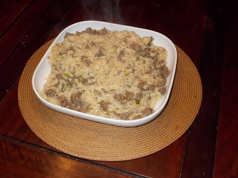 Family Cookbook: Dirty Rice (main or side dish)