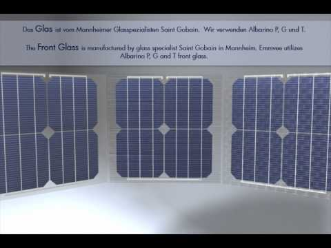 EMMVEE Photovoltaic Modules - Manufacturing principle