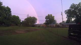 Rainbow After  Storm.
