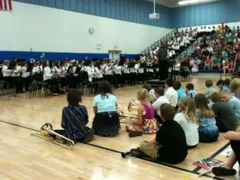 Minooka Intermediate School Band spring concert 2010