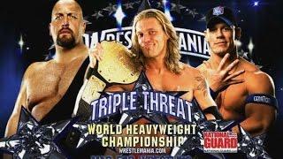 John Cena vs. Big Show vs. Edge - World Heavyweight Championship : WrestleMania 25