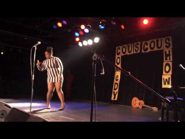 DoubleXL at The Couscous Comedy Show-The Bigger The Better