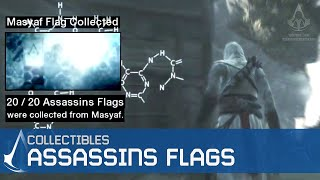 Assassin's Creed - Side Memories - Assassin Flags Locations [Masyaf Flags]