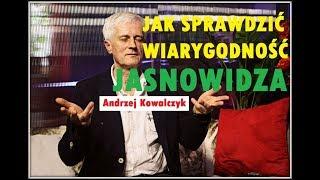 JAK SPRAWDZIĆ WIARYGODNOŚĆ JASNOWIDZA ?- Andrzej Kowalczyk © VTV