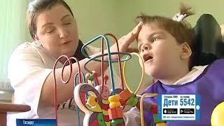 Аня Шпилова, 2 года, детский церебральный паралич