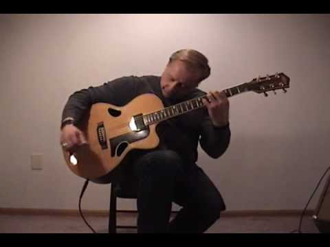 Scott Fraser solo guitar - Strawberry Fields (Beatles).wmv