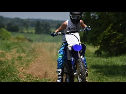 INSANE Yz125 Rev Limiter!! (MUST WATCH)