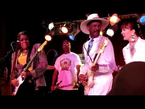 Larry Graham&Felicia Collins, BB King Blues Club, NYC 6-16-10 (HD)