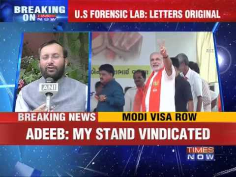 New turn in Narendra Modi Visa row