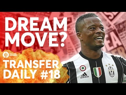 Evra, Griezmann, Bale | Manchester United Transfer News | Transfer Daily #18