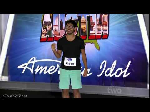 Munfarid Zaidi from Pakistan, living in US rocked American Idol