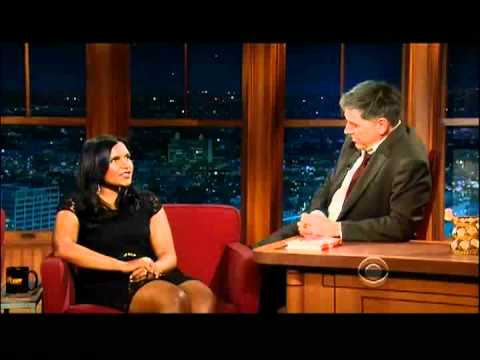 Craig Ferguson 12/16/11D Late Late Show Mindy Kaling XD