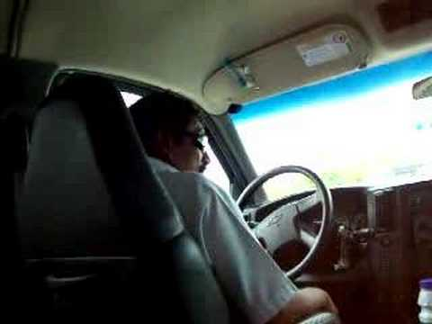 Taxi driver in cancun