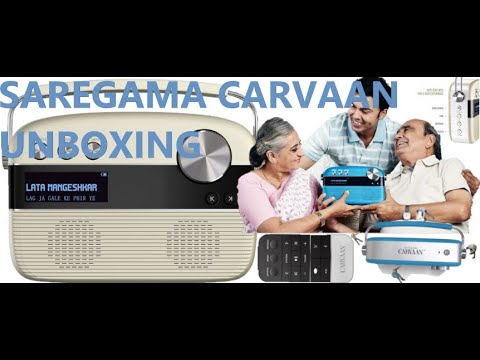 SAREGAMA CARVAAN UNBOXING | DETAILS | WORKING | DEMO OF SAREGAMA CARVAAN