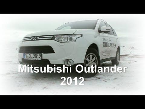 New Mitsubishi Outlander 2012 DI-D  AT Intense im Autohaus Strobel OHG