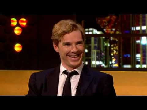 Benedict Cumberbatch impersonates Alan Rickman, David Tennant, and Jonathan Ross.