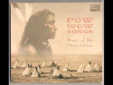 Track 9 'War Dance Song' from the 2001 CD Powwow Songs Music Of The Plains Indians released on the UK ARC music label. The field recordings made in August 19...