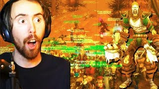 Asmongold Leads a Raid to Defeat NATHANOS & CANCEL BFA (Classic WoW Beta)