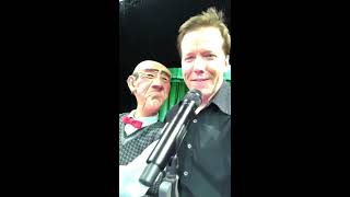 LIVE FROM PHILLY! Walter and Jeff discuss Valentines Day! | JEFF DUNHAM