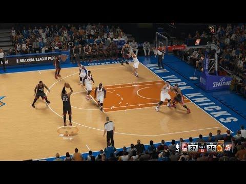 NBA 2K15 - Miami Heat VS New York Knicks Gameplay Match