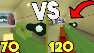 FOV Challenge In ARSENAL! (ROBLOX)
