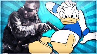 Donald Duck Gets Beat Up in CoD Ghosts