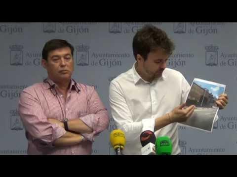 El PSOE de Gijón detecta errores en la ejecución del carril bici del Muro