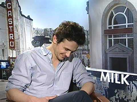 Milk Interview with James Franco / Nov 2008