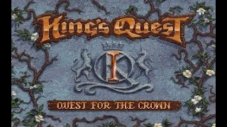 King's Quest 1 (VGA) (1/5): Intro & initial exploration